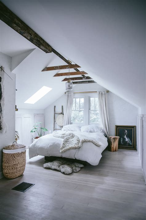 cramped attic space  opened  front main