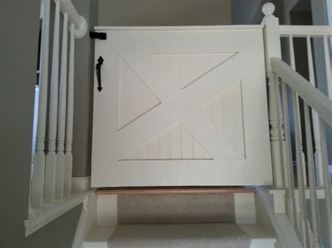 baby gate barn door style
