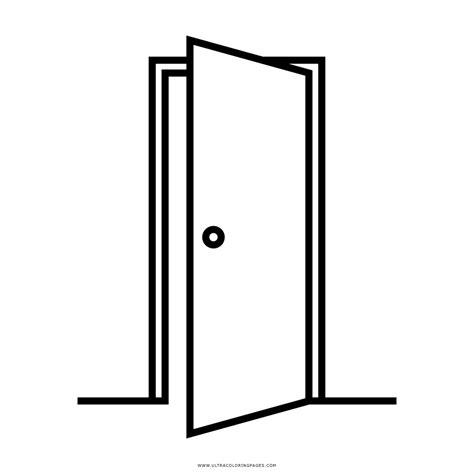 porta da colorare porta aberta desenho para colorir ultra coloring pages