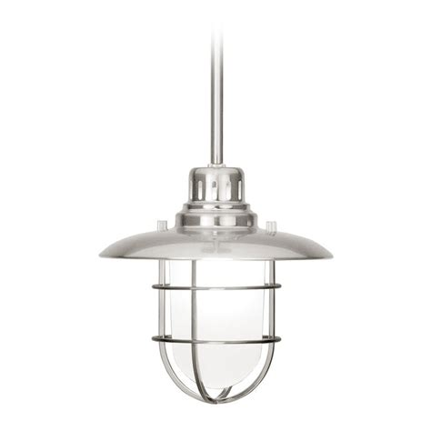 Nautical Mini Pendant Light In Satin Nickel 812 09 Nautical Lights