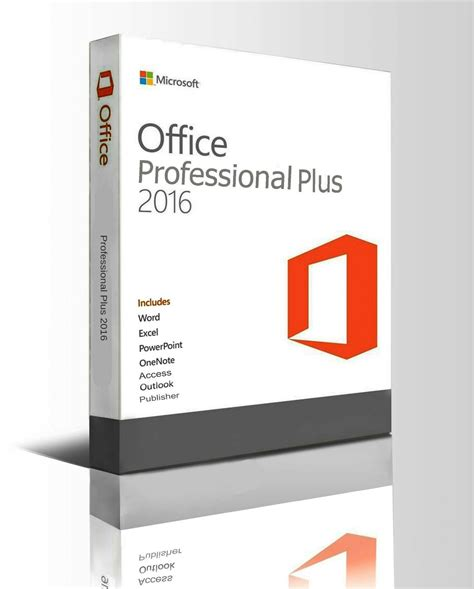 office plus ms microsoft office 2016 professional plus 1pc original 64