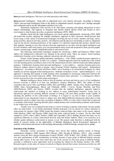 intelligences research paper college essays college application essays