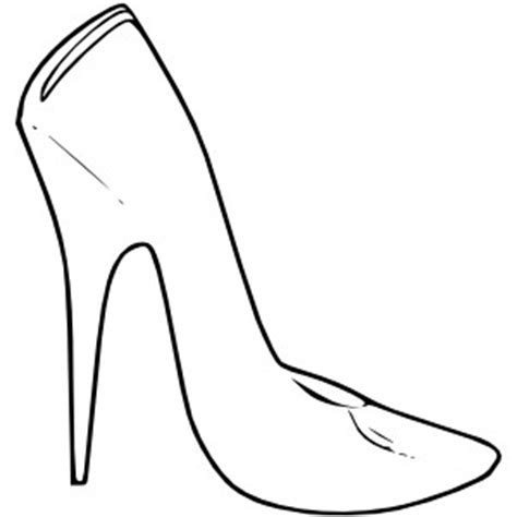 High Heel Shoes Outline by High Heel Shoes Fashion Clip Polyvore