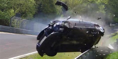 Omesh Green 1 Golf 5 Gti Crash At Nurburgring Autoevolution