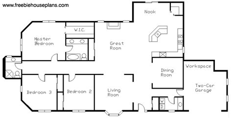 house plans with great room designing house plans with