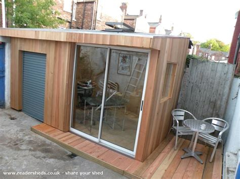 Cabin Garage Plans by One Grand Designs Shed Workshop Studio From Liverpool Uk