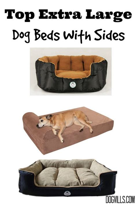 dog bed with sides top extra large dog beds with sides dogvills