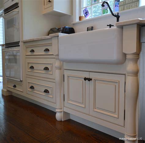 randolph morris farm sink antique tuscan custom cabinet remodeling kitchen