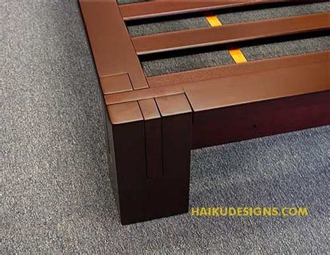 Japanese Wooden Bed Frame Plans Japanese Platform Bed Plans Woodworking Projects Plans
