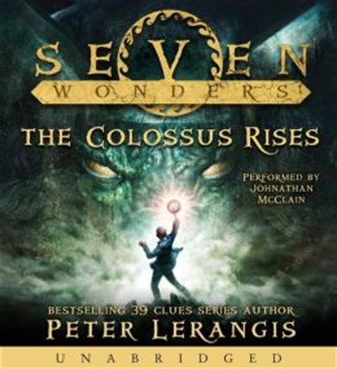 seven deadly wonders series 1 the colossus rises seven wonders series 1 by
