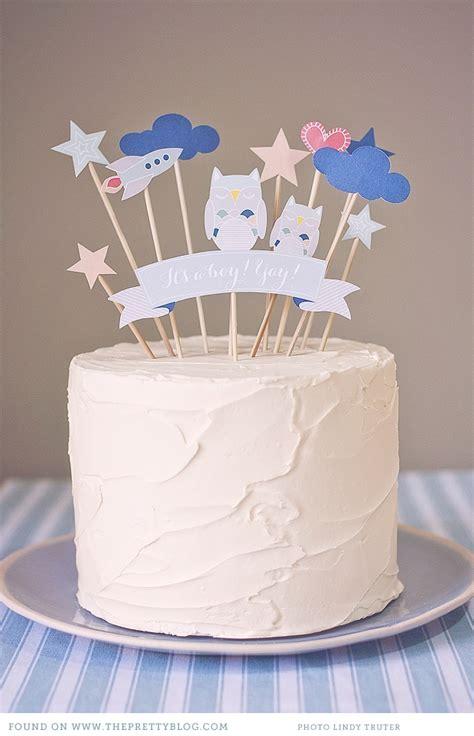 printable birthday cake decorations la guinda del pastel un diy para fiestas que dejan la