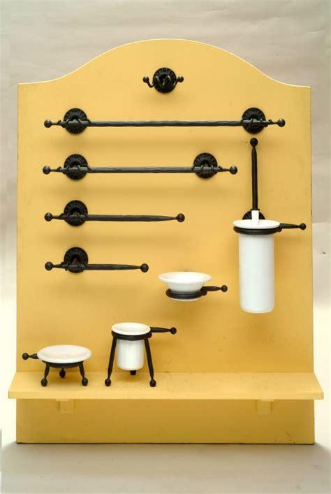 accessori bagno in ferro battuto acba102 accessori bagno