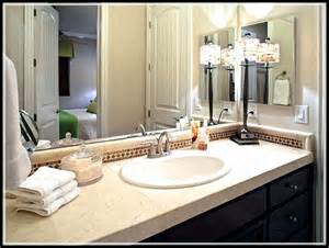 Decorating Ideas For Bathroom Counter Bathroom Decorating Ideas For Small Average And Large