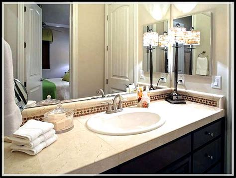 bathroom countertop decorating ideas bathroom decorating ideas for small average and large
