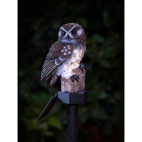 Owl Solar Lights B M Gt Owl Solar Stake Light 2868861