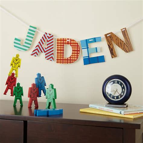 Letter Decoration 21 Diy Cardboard Letters Guide Patterns