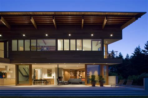 modern cedar park house in seattle washington