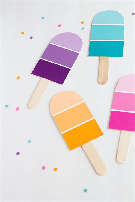 diy paint swatch crafts 8 diys you can make using paint swatches