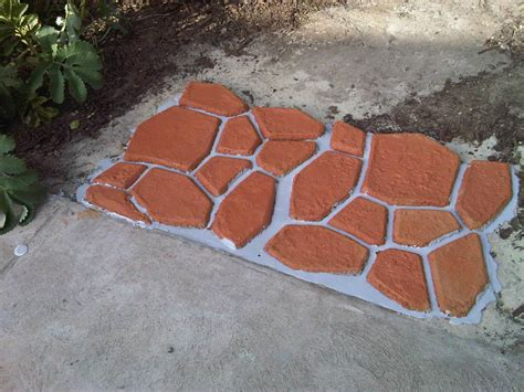 how to use concrete patio molds rugdots