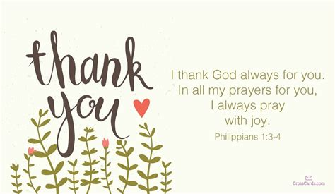 thank you letter to christian friend free i thank god always for you ecard email free