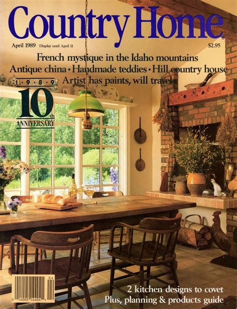 country home magazine april 1989 back issue volume 11 issue 2