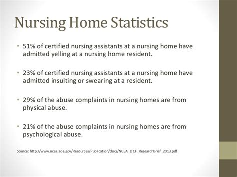 nursing home abuse statistics