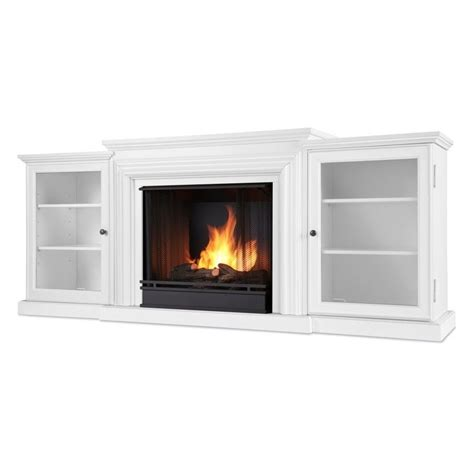 gel fuel fireplace real frederick gel fuel fireplace in white 7740 w