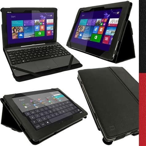 Asus Transformer T 100t pu leather cover holder for asus transformer book