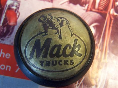 Mack Shift Knob by Hill Billy Skull Shift Knob W Adapter Mack Shift Knob