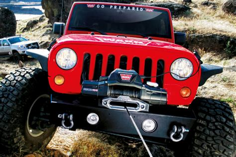 How To Install A Winch On A Jeep Wrangler Related Keywords Suggestions For Jeep Winch