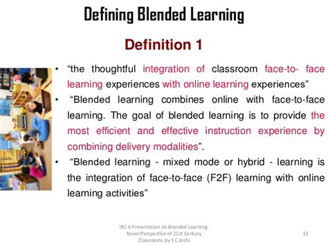 Distance Mba Means by Blended Learning 21st Century T L Environment
