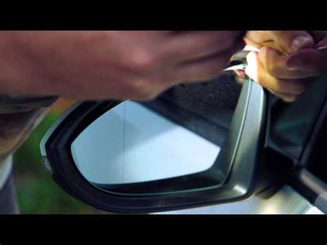 How To Install Replace Broken Side Rear View Mirror Vw