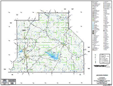 jackson louisiana map jackson parish louisiana maps