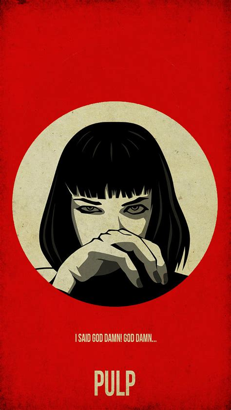 Wallpaper Iphone 5 Pulp Fiction | pulp fiction iphone 5 wallpaper 640x1136