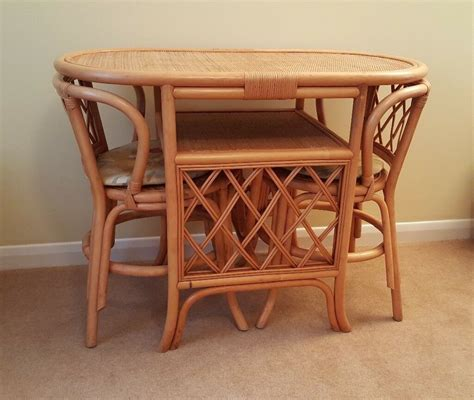 conservatory dining table and 2 chairs in fareham