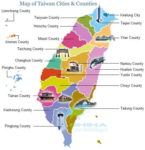 printable map taiwan maps update 540560 taiwan tourist attractions map