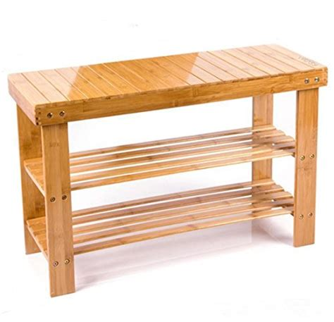 bamboo spa bench 100 bamboo shower seat bench bathroom spa bath organizer stool 2 storage shelf ebay