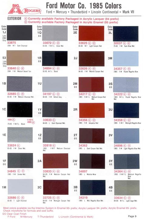 ppg paint colors interior 1967 ford interior color codes www indiepedia org