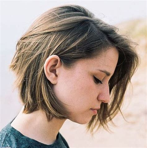 best bob haircut for large jaw 25 best ideas about chin length haircuts on pinterest