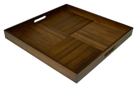 large square ottoman tray simply bamboo extra large square serving tray