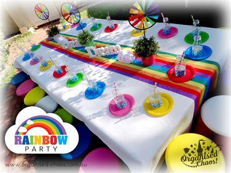 Rainbow  Ee  Party Ee   Organised Chaos