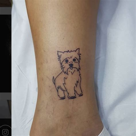 dog outline tattoo outline tattoos pictures www picturesboss
