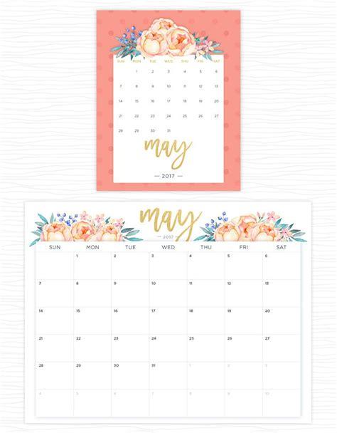 flower design kalender printable calendars for a more floral 2018 printable