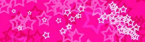 header design pink stars