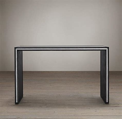 Restoration Hardware Console Table Strand Mirrored Console Tables I Restoration Hardware