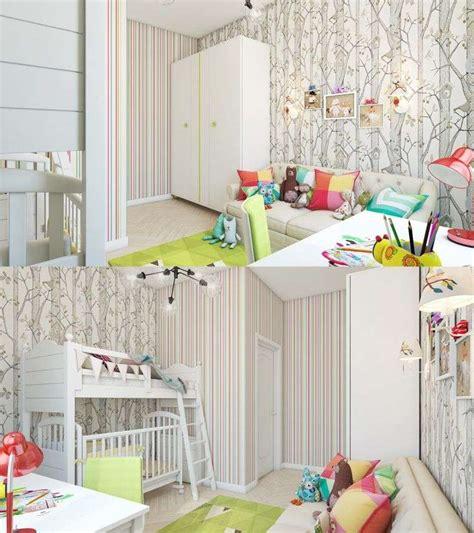 idee chambre enfant idee papier peint chambre fille meilleures images d