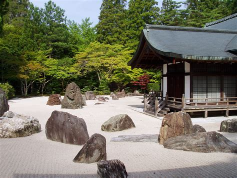 japanese rock garden pictures file kongobuji temple koyasan japan banryutei rock