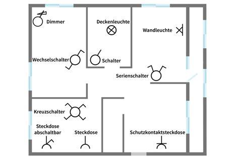 symbole elektroinstallation haus installationsplan elektro symbole schaltzeichen planungstipps
