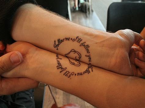 Tattoo For Love Couples | love quotes tattoos for couples