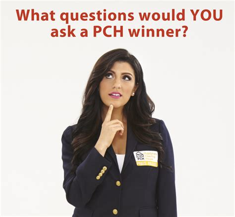 Recent Pch Winners - what would you ask a pch winner pch blog